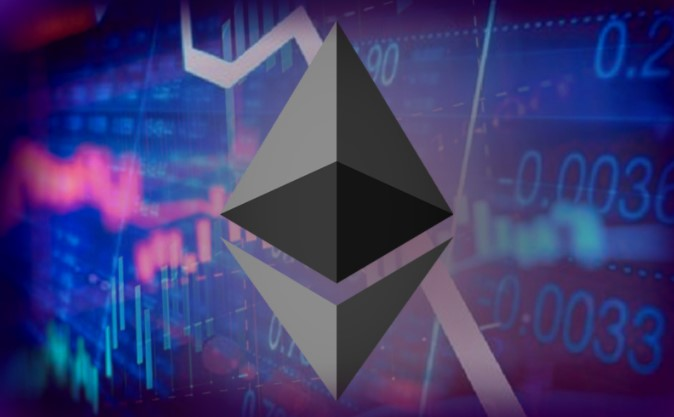 Ether price drop