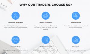 trade crypto with EFT Markets