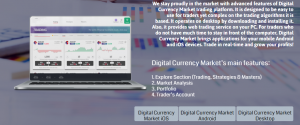 Digital Currency Market WebTrader