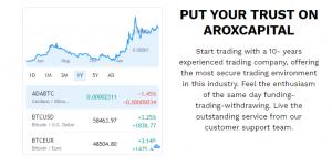 Arox Capital online trading