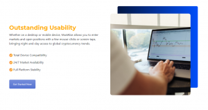 MaxWise outstanding usability