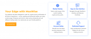 trading crypto with MaxWise